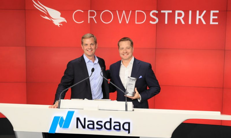 CrowdStrike stock bounces back after earnings typo is corrected