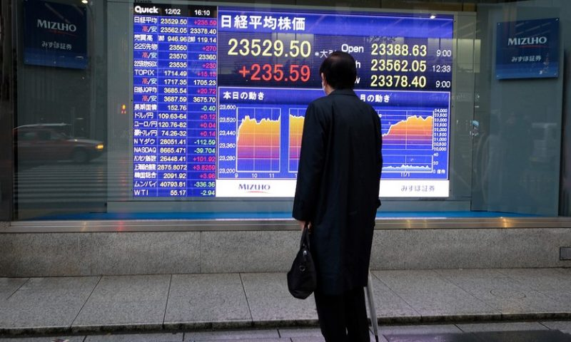 Asia stock markets mixed as attention on looming trade deadline, expected central bank inaction