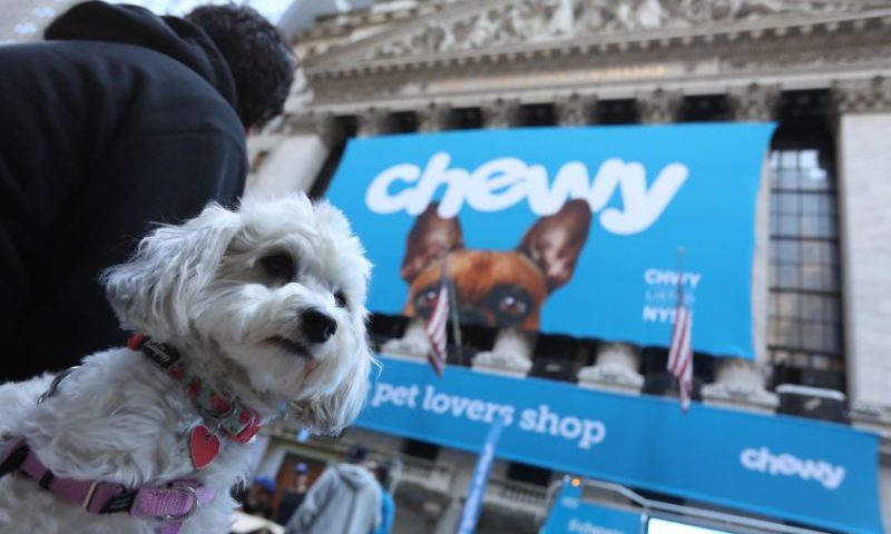 Equities Analysts Cut Earnings Estimates for Chewy Inc (NYSE:CHWY)