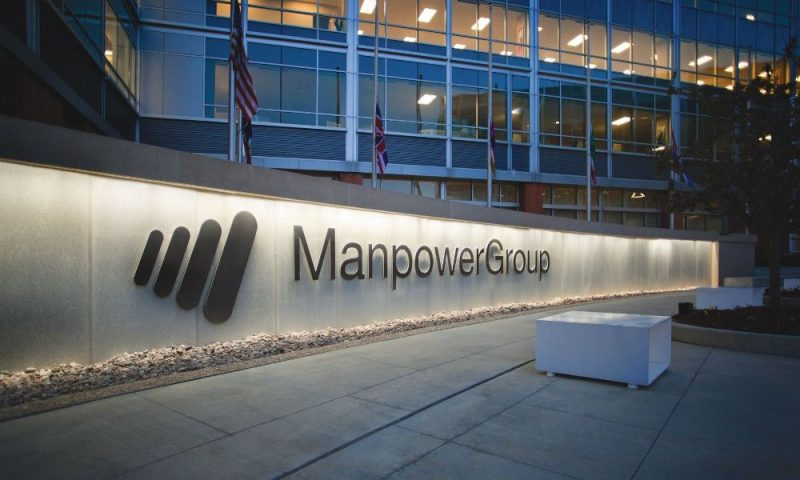 Jefferies Financial Group Initiates Coverage on ManpowerGroup (NYSE:MAN)
