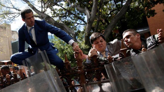 Venezuela crisis: Two lawmakers claim Speaker role