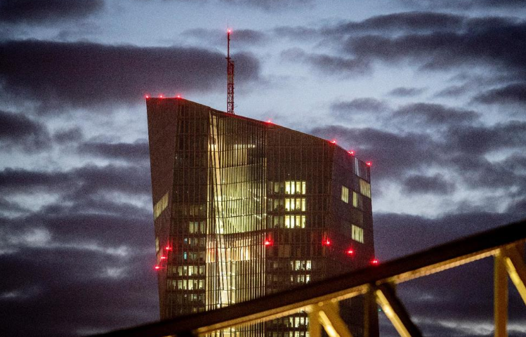European Central Bank Sees a Few Upbeat Signs in Eurozone