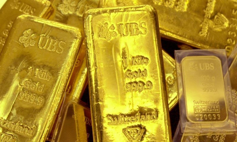 Gold finishes lower as worries over China virus ebb