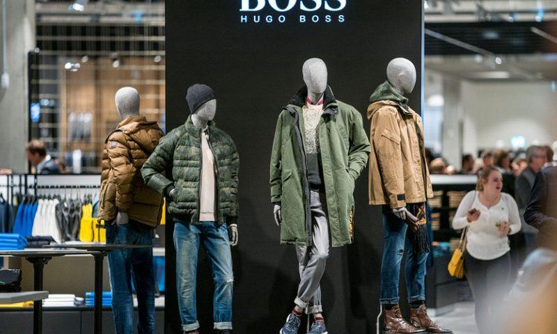 Hugo Boss sales, profit rose on European growth