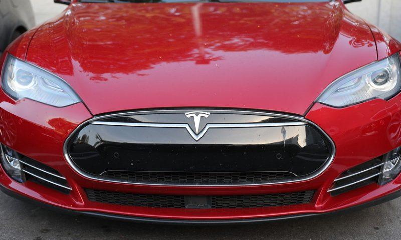 Tesla stock sets sights on $550