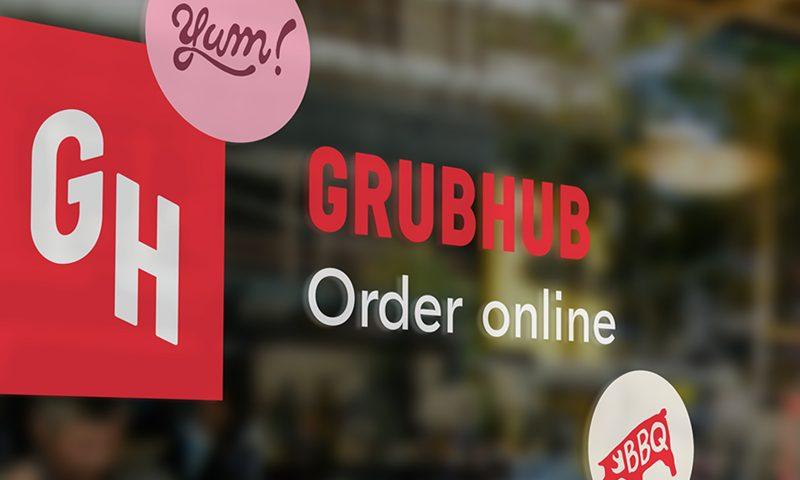 GrubHub (NYSE:GRUB) Shares Gap Down to $52.38