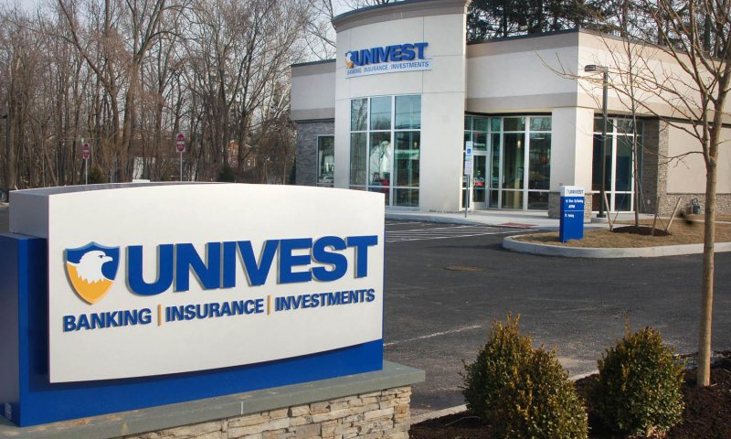 Equities Analysts Issue Forecasts for Univest Financial Corp's FY2020 Earnings (NASDAQ:UVSP)