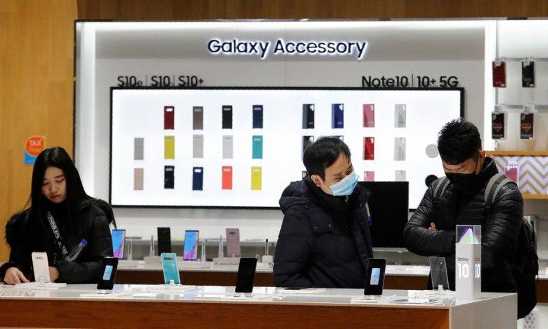 Samsung Predicts Earnings Improvement After Sluggish 2019