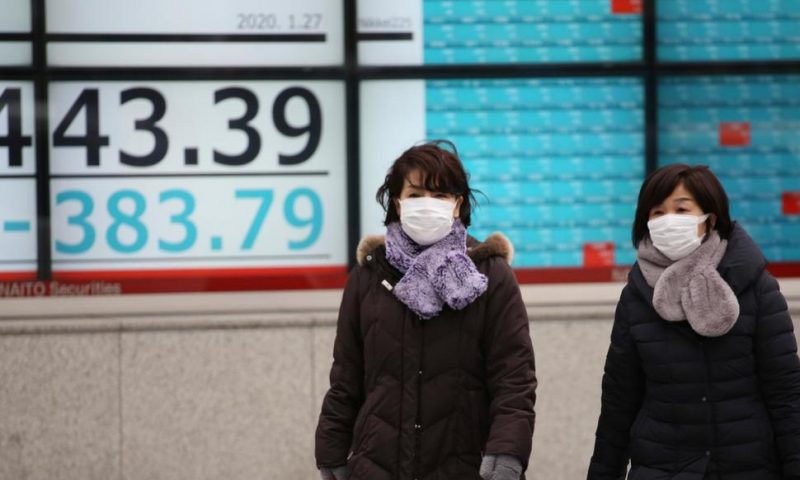 World Stocks Skid as Virus Fears Spook Markets, Hit Tourism