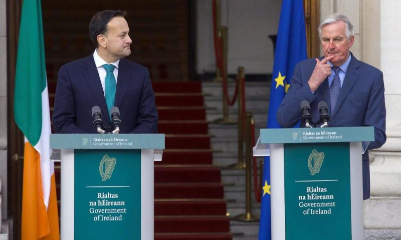Irish Leader Says EU to Have Stronger Hand in UK Trade Talks