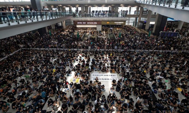 Protests Take Toll on Hong Kong Tourism