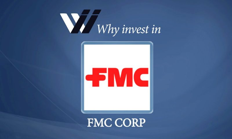 FMC Corp (NYSE:FMC) Shares Sold by Exane Derivatives