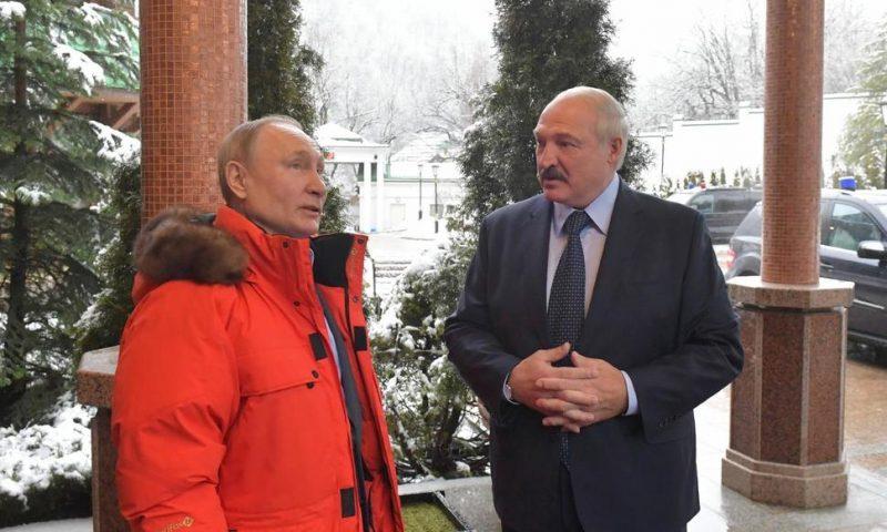 Putin Hosts Belarus Leader for Talks Amid Economic Pressure