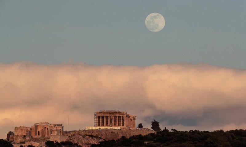 Greek 10-Year Bond Yield Makes Historic Dip Below 1%