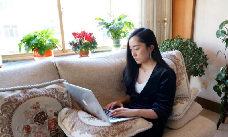 China's Virus Crackdown Leaves Millions Working at Home