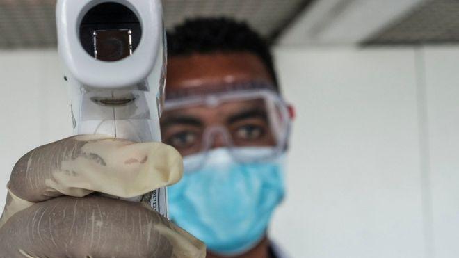 WHO head tells Africa to 'wake up' to coronavirus threat