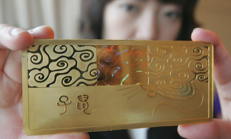 Gold scores biggest daily dollar gain on record
