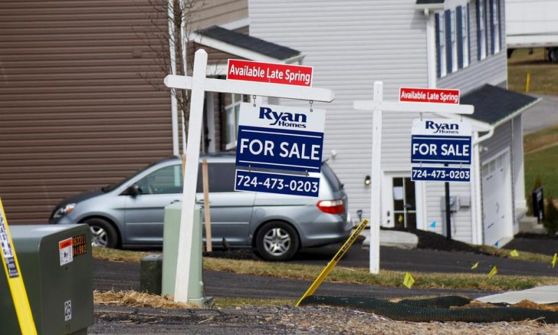 New Home Sales Drop 4.4% in February