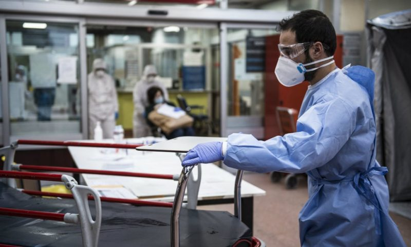 Global Coronavirus Cases Top 500,000 As Italy Records 6,000 More