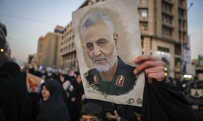 Iran Issues Arrest Warrant for Trump, Others for Soleimani Killing