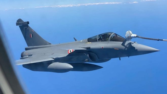 Rafale: India gets new jets amid border tension with China