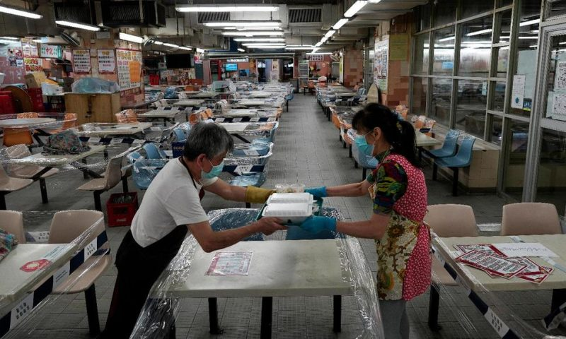 Hong Kong Economy Contracts 9% in Latest Quarter