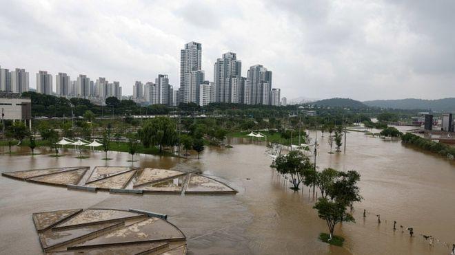 South Korea battles deadly floods and landslides