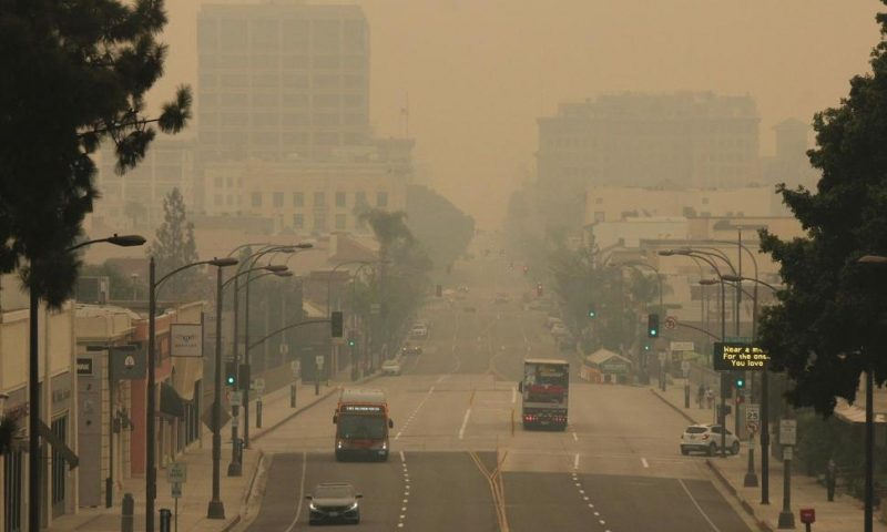 Wildfires During Pandemic Intensify Economic Pain in West