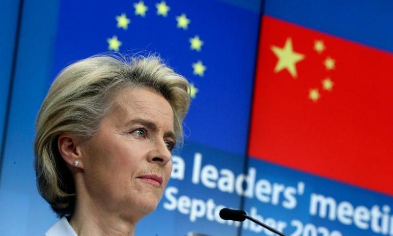 EU Presses China on Market Access, Human Rights