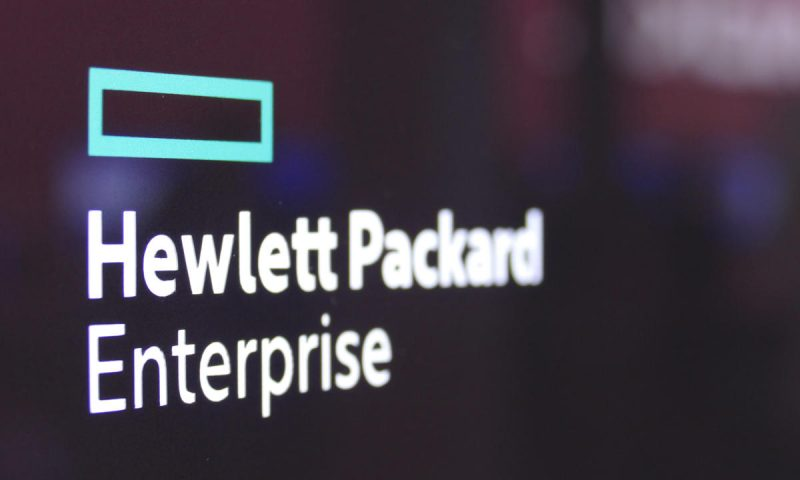 HPE shares rise 4% on improved fiscal 2021 outlook