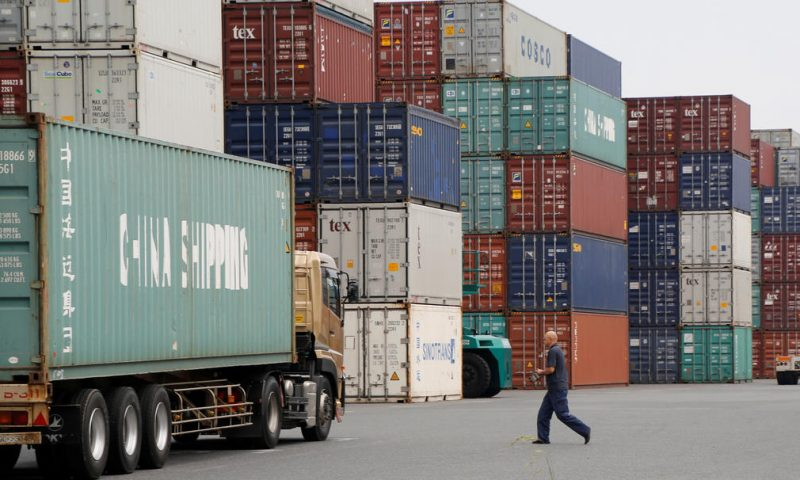 Japan's exports fell at slower pace in September