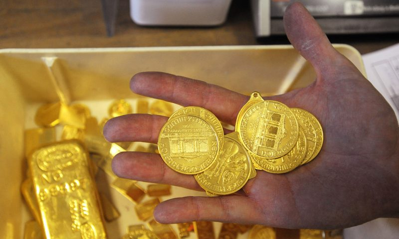 Gold tallies fifth gain in 6 sessions