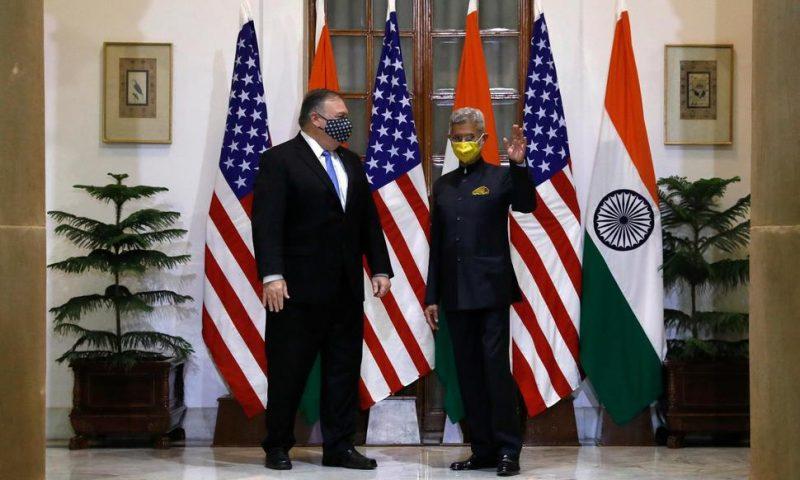 Pompeo, Esper Driving US's Anti-China Message in India Visit