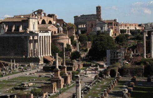 'Please forgive me!': US tourist returns block of stolen Roman marble