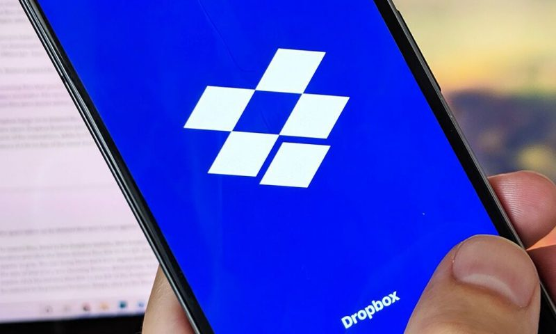 Dropbox shares rise, then fall, on revenue, earnings beat