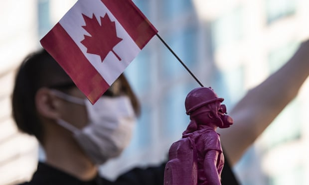 Canada makes plan to evacuate its citizens from Hong Kong