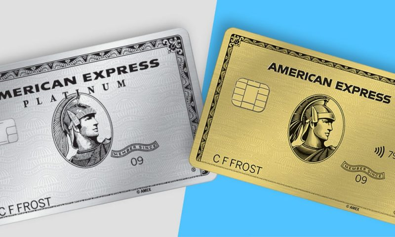 American Express, Walt Disney share losses lead the way, but Dow flat