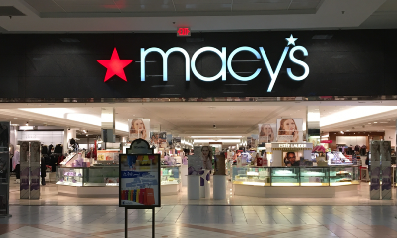 Macy's stock falls after results swing to a loss
