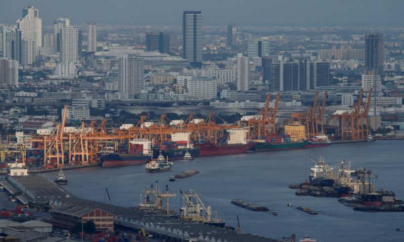 Thailand's GDP contracts less than expected in Q3