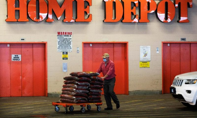 Isolated Americans Spend at Home; Home Depot Is There for It