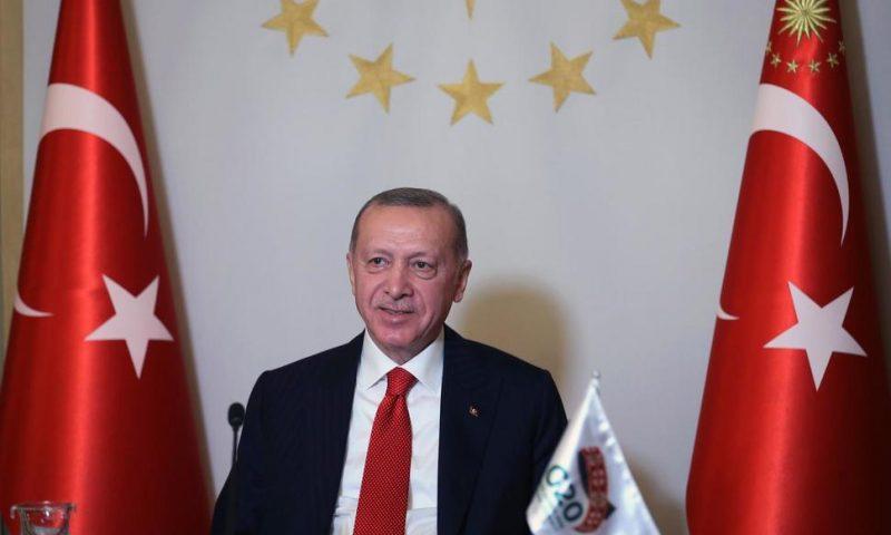 Erdogan Says Turkey's Place Is in Europe Before EU Summit