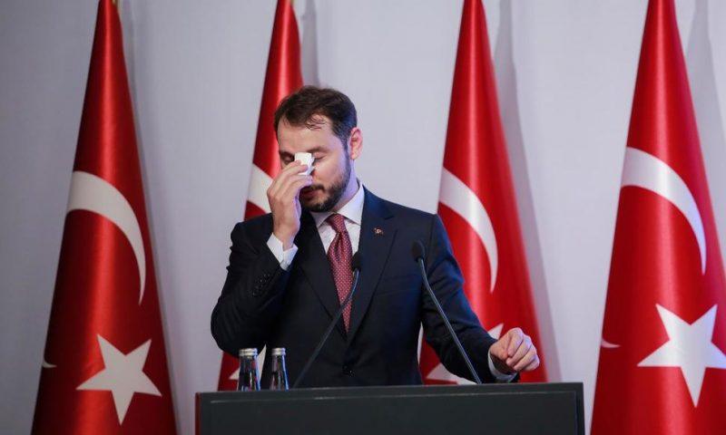 Erdogan Accepts Turkish Finance Minister's Resignation