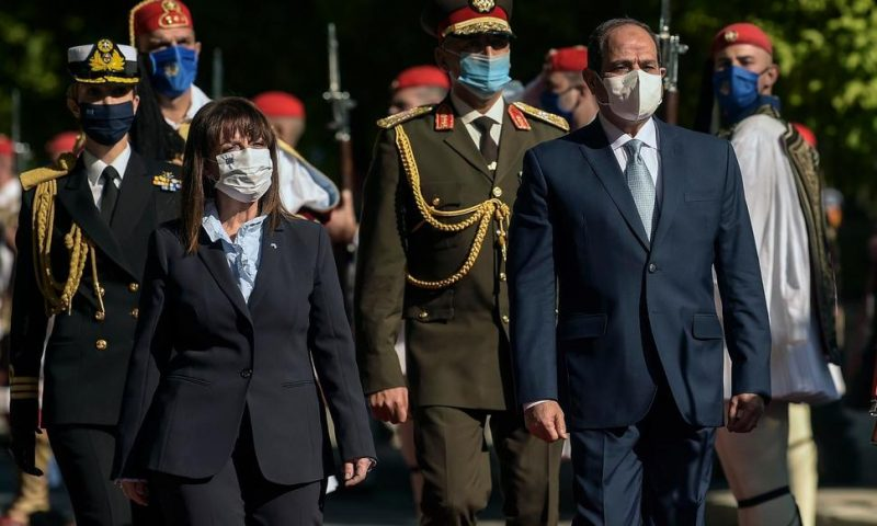 Egypt's President in Greece on 1st Visit Since Maritime Deal