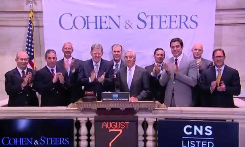 Cohen & Steers Inc (CNS) Soars 4.11%
