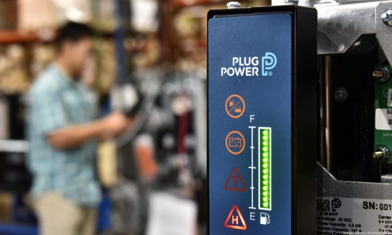 Plug Power's stock tumbles after upsized public stock offering prices at 11% discount