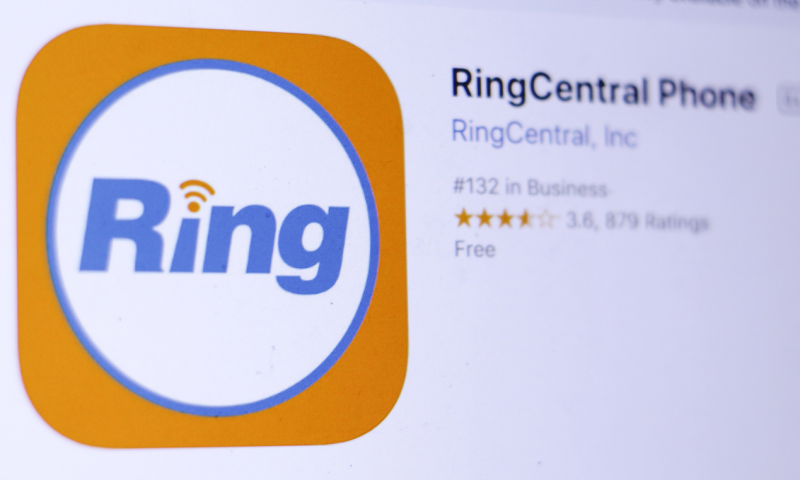Ringcentral Inc. Class A (RNG) Soars 2.18%