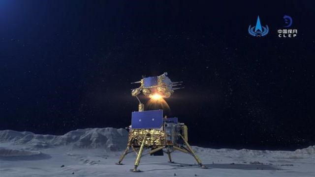 Moon rocks return to Earth