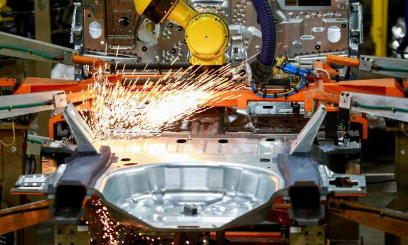 US Factories Grew More Slowly Last Month; Index Dips to 57.5