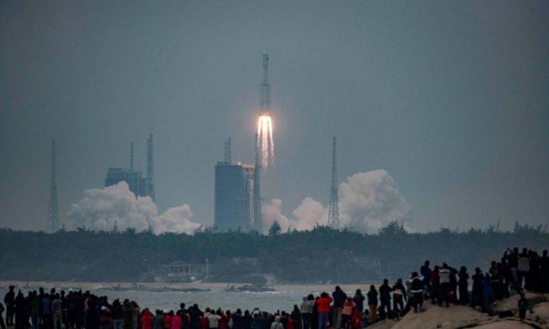 China's New Long March 8 Rocket Makes Maiden Flight