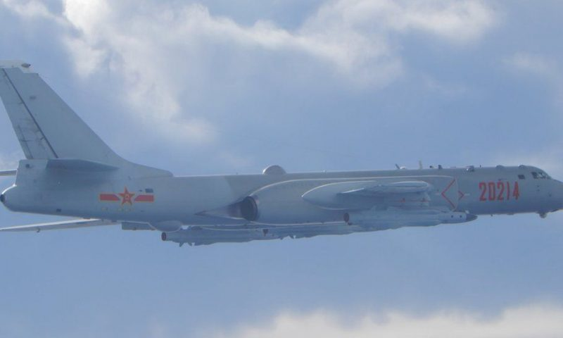 Taiwan reports large incursion by Chinese warplanes for second day